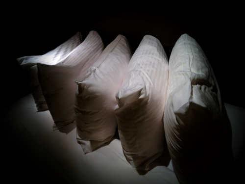oreillers carrés