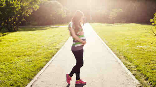 femme enceintes deuxième trimestre