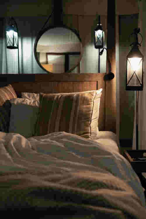 Mousse latex naturel et mousse viscoélastique sur lit