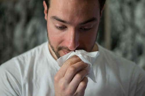Personne asthmatique