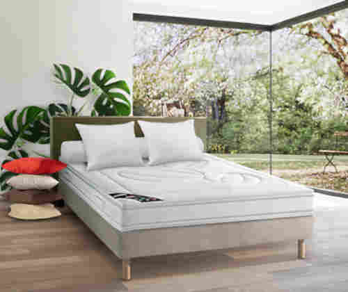 Le matelas en latex naturel Dunlopillo Hévéane