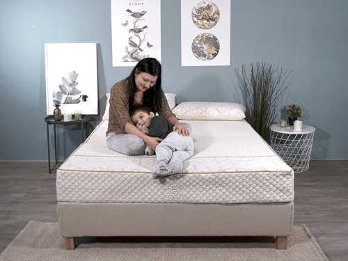 Matelas naturel et organique pour dormir sur le côté