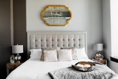 Chambre luxueuse comme à l'hôtel